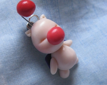Moogle Final Fantasy Necklace