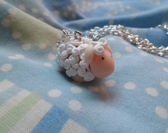 Lovely sheep necklace
