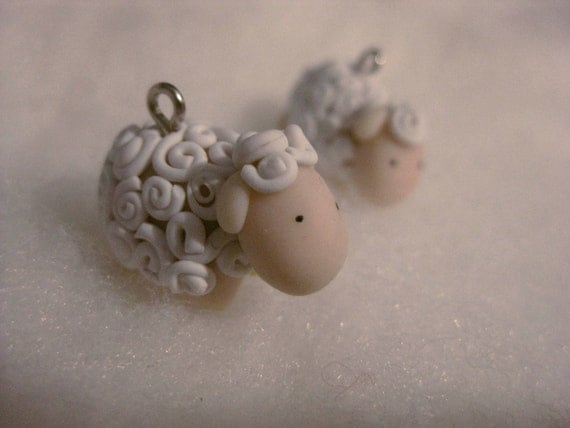 Lovely sheep earrings