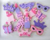 Fancy Nancy Princess Cookies