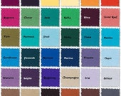 Custom Color Dinner Napkins- Set of 10