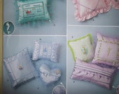 12 pillow patterns for kids, or ring bearer pillows