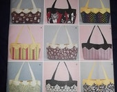bag or fabric basket sewing pattern with changeable cover