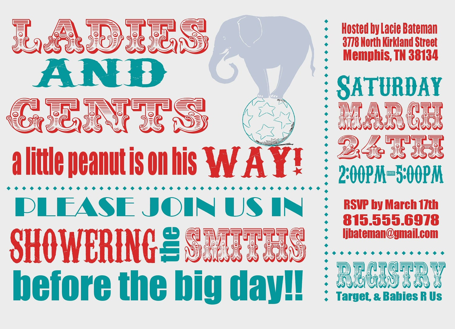 Circus Baby Shower Invitations can inspire you to create best invitation template