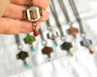 Invalides Necklace french landmark souvenir by Nancelpancel on Etsy