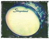 Slingerland bass drum drummer art, music wall decor, musicians gift, gift for guy, gift for boyfriend, hipster, dude, rock n roll art