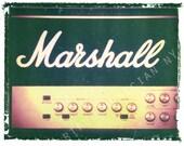 Marshall guitar amp art, music wall decor, musicians gift, gift for guy, gift for boyfriend, hipster, dude, rock n roll art