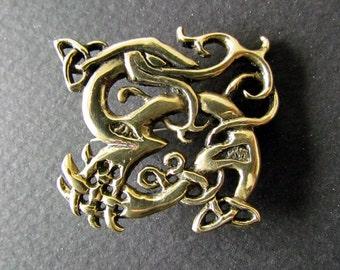 Urnes dragon brooch