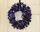 Baltimore Ravens Rag Wreath