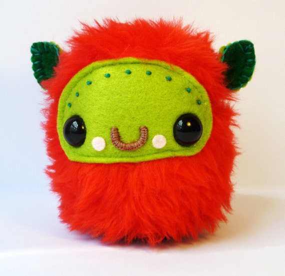 Mini Fluff Monster - Handmade by LokiCoki