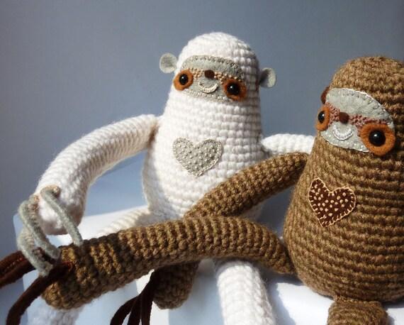White Curious Sloth by LokiCoki