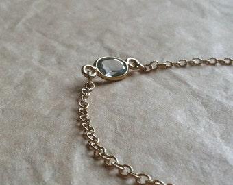"""Blue Topaz """"Unity"""" Bracelet"""