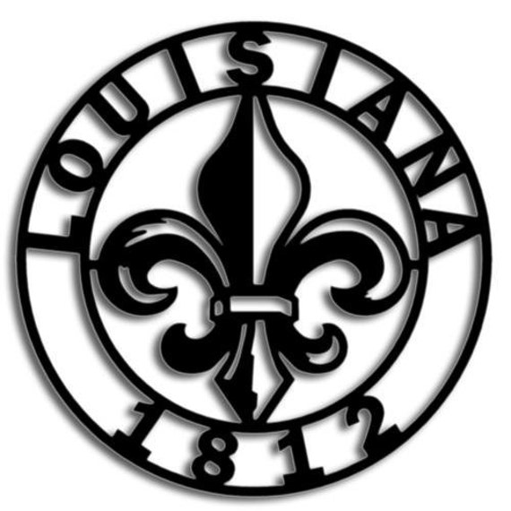 Louisiana Bicentennial 1812 Wall Mount Style 3 By