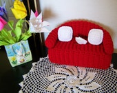 Crochet Tissue Box Cover / Crochet Couch