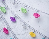 """Crochet necklace - turkish lace - needle lace - oya necklace - 127.95"""" - FAST worldwide shipment with UPS - fatma-017"""