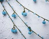 "Crochet necklace - turkish lace - needle lace - oya necklace - 155.12"" - FAST worldwide shipment with UPS - saime-023"