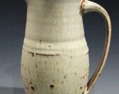 White on white pitcher