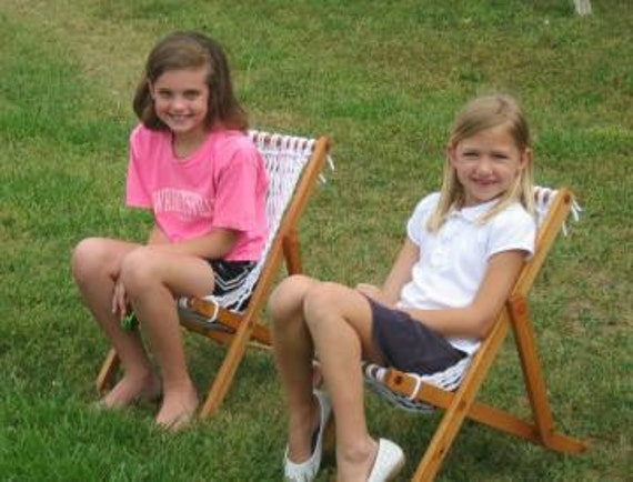 Outer Banks Hammocks rope KIDS CHAIR