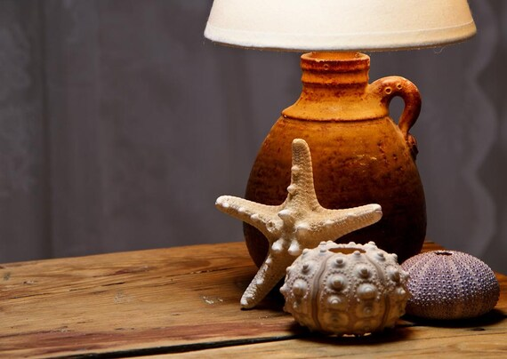 Handmade Ceramic Lamps : Ceramic lamp pottery bedside handmade