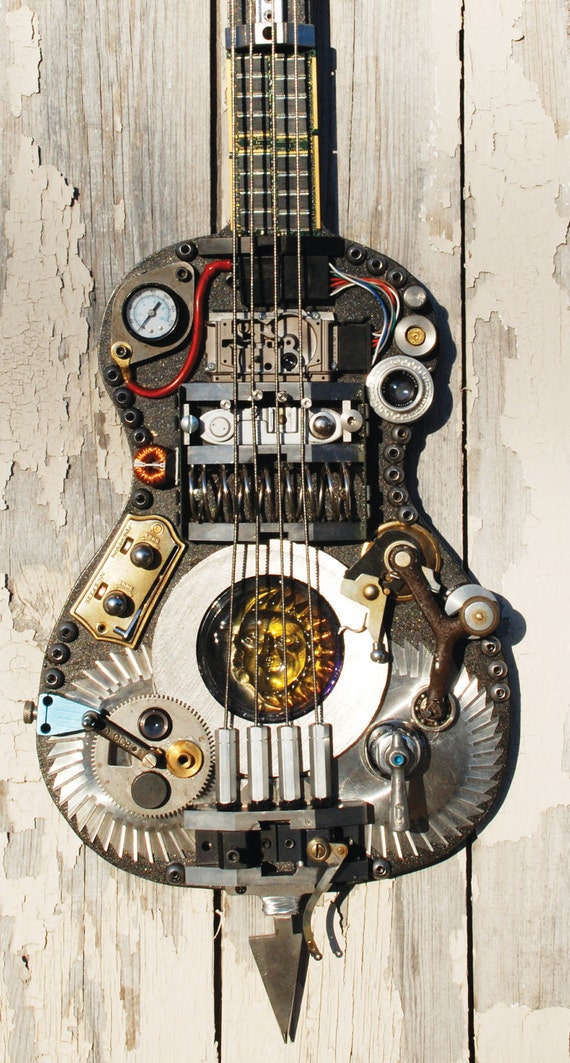 "Guitar Assemblage ""HEAVY METAL"""