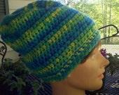 Handmade crochet slouch hat by retrocrochetclassics