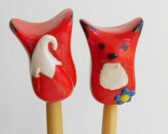 Fox Knitting needles