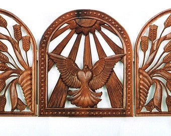 Wall hanging, wood carving, Love, fretwork, To Be Ordered, wedding gift