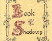 Book of Shadows Cover Page