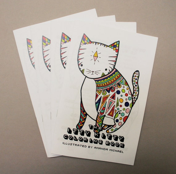The Itty Kitty Coloring Book