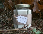 Fresh Fig Scented Soy Candle 8oz