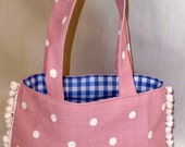Small tote bag - pink