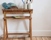 Unusual vintage artists wooden stand