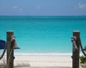 "Gateway to the Caribbean - Providenciales, Turks and Caicos Beach Photography - Original Photography  - 11"" X 14"""