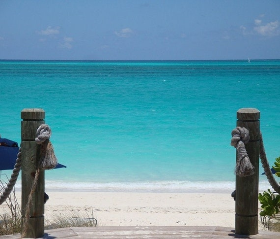 Gateway to the Caribbean - Providenciales, Turks and Caicos Beach Photography - Original Photography  - Travel and Leisure - Paradise
