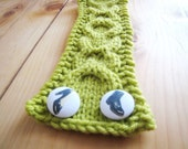 Cable Cuff - Lime