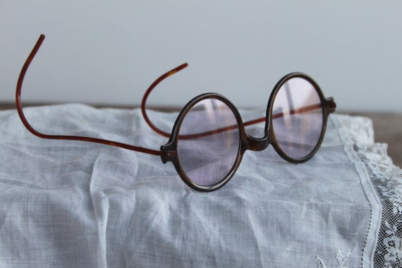 Antique Pair of Celluloid Eyeglass - Free shipping in USA