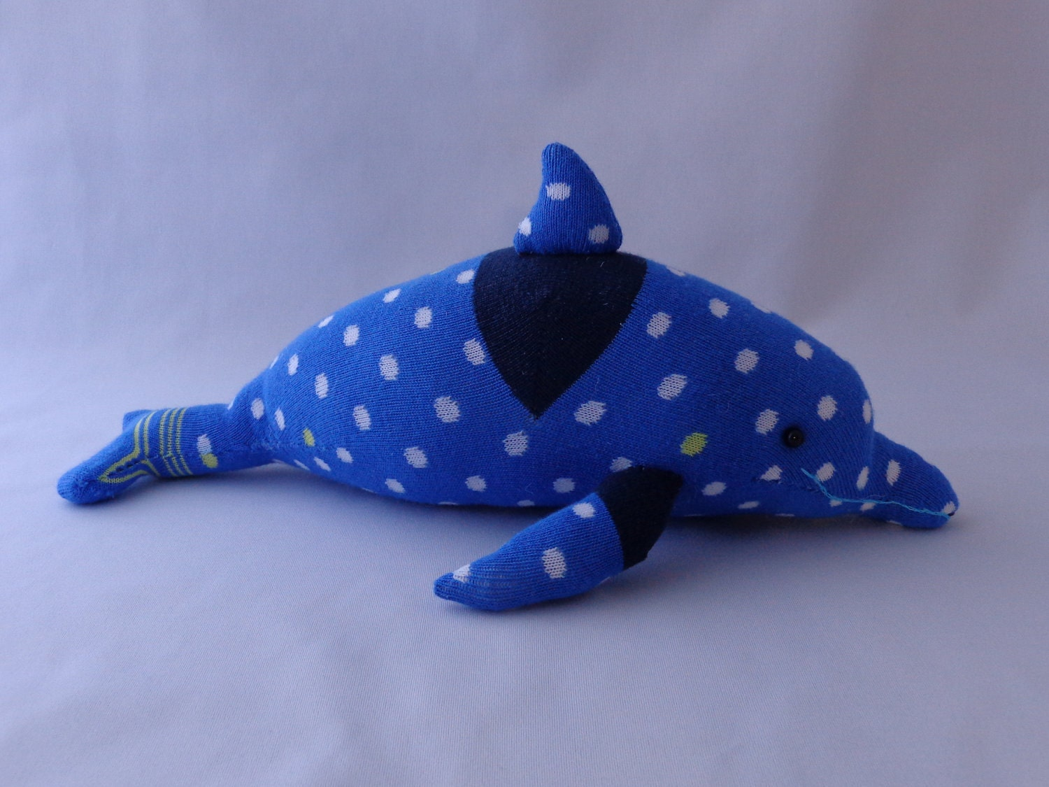 Blue Dolphin Plush Toy Dolphin Stuffed Animal Dolphin
