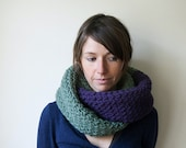 RESERVED - Chunky Extra Long Infinity Scarf