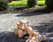 Wooden Toy - Road Grader