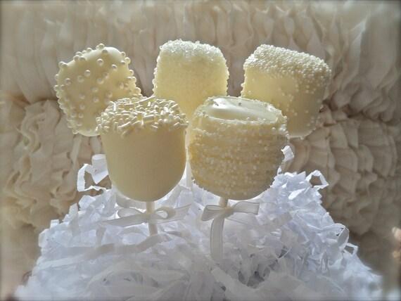 Custom Listing for Judi Edible Wedding Favor Marshmallow Pops Frost the Cake