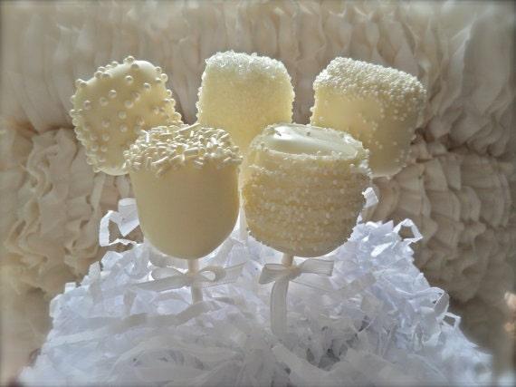 Items Similar To Edible White Wedding Favors Chocolate