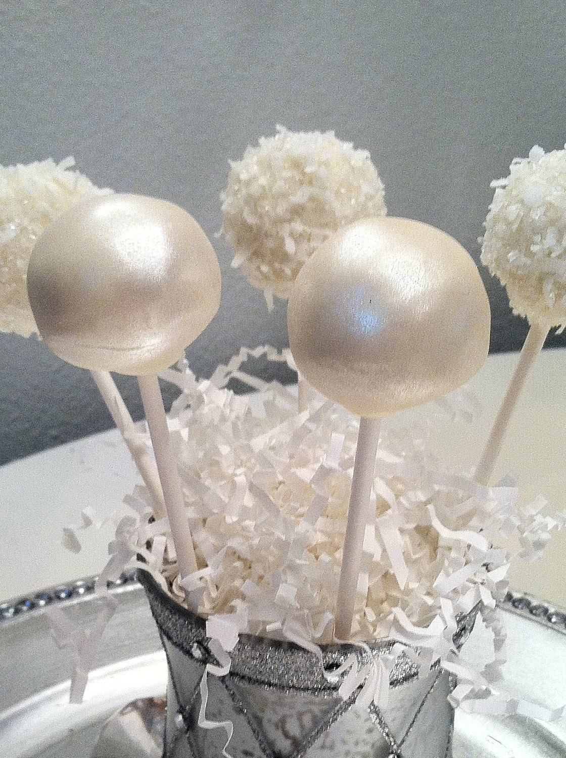 Wedding Cake Pop Favors Frost the Cake by FrosttheCake on Etsy