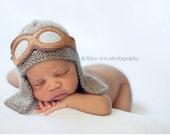 Newborn Felt Aviator Goggles - Newborn Photography Prop