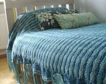 """Blanket """"Le Grand Bleu"""""""
