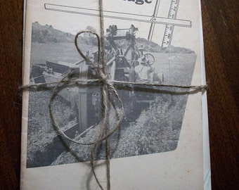 Vintage Paper, Ephemera, 1960s, Farming, US Dept. of Agriculture Farmers' Bulletin, from All Vintage Man - Collage, Mixed Media
