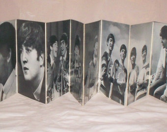 Beatles Photo Wallet Fold Out-Dell-1964-Pictures, Bios, Horoscopes