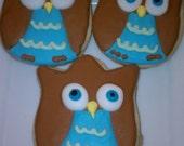 Owl Sugar Cookie Favors...2 dzn