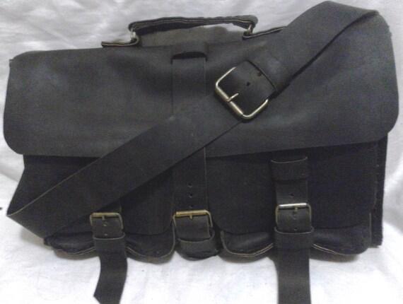 Mens Leather Briefcase, Handmade Satchel Briefcase, Graduation Gift