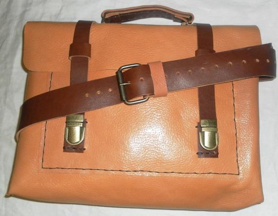 Custom Handmade Messenger Bag, Leather Laptop Bag, Gifts for Men