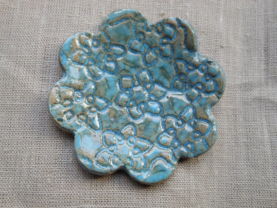 Multi-Purpose Turquoise Ceramic Little Dish